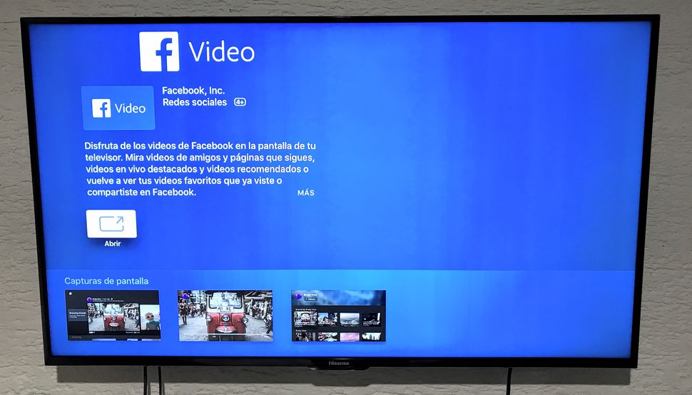 facebook salta a TV con Nexora